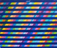 spektrum im raster, chromatische konstellation by heinz mack