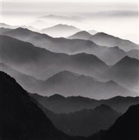 huangshan mountains, study 42, anhui, china, 2010 by michael kenna