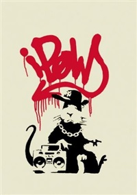 gangsta rat by banksy