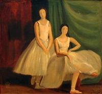 deux danseuses au repos by andré derain