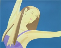night: william dunas dance 4 (pamela) by alex katz