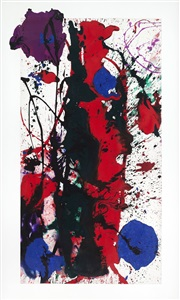 expo chicago, the international exposition of contemporary modern art by sam francis