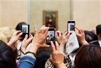 the louvre by martin parr
