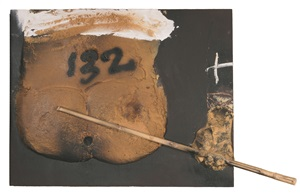 cos i bastó by antoni tàpies