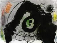 tête i by joan miró