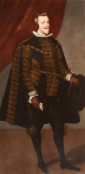 philip iv, king of spain by diego rodríguez de silva y velásquez