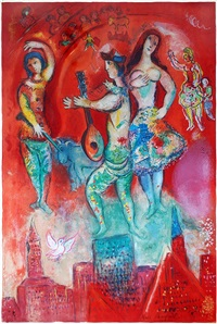 carmen by marc chagall