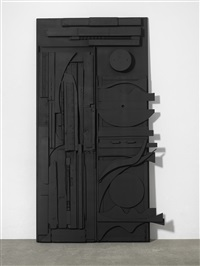 untitled (door) by louise nevelson