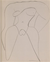 female nude by louise nevelson