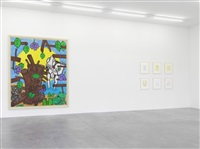 exhibition view iv by carroll dunham