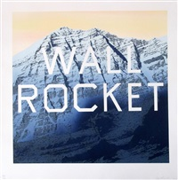 wall rocket by ed ruscha