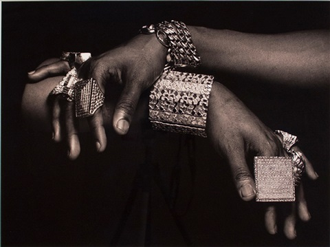 slick rick's hands, new york city by albert watson