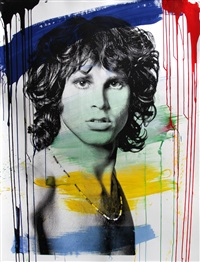 jim morrison by mr. brainwash
