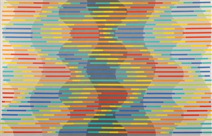 colour column (no. 3) by michael kidner