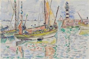 bateaux à groix by paul signac