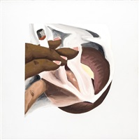 smoker study / for smoker # 24 by tom wesselmann