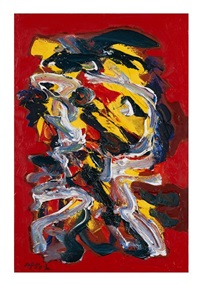 abstract personage by karel appel