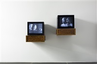 two videos, three photographs, several related masterpieces, and american art by yan xing