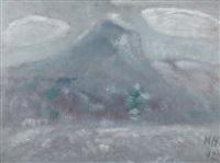 mount katahdin, snow storm by marsden hartley