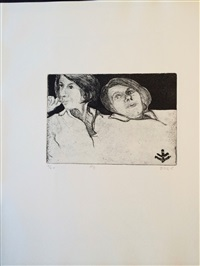 #8 from 41 etchings and drypoints by richard diebenkorn