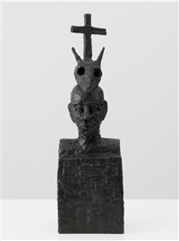 afrikanische dreifaltigkeit by walter dahn