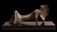 reclining figure: cloak by henry moore