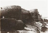 ramparts at arles by charles nègre