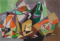 le pot orange by gino severini