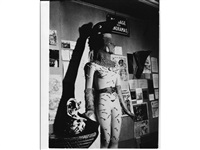 variant stuy mannequin designed by salvador dali by man ray