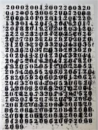 untitled (2000-2099) by glenn ligon