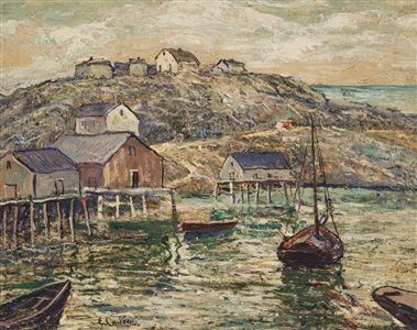 summer group show by ernest lawson