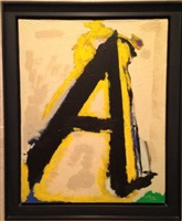 """the little a"" by robert motherwell"