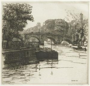 pont marie, paris by caroline helena armington
