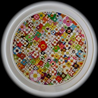 superflat, first love, flower by takashi murakami