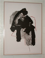 calligraphy i by robert motherwell