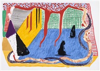ink in the room by david hockney