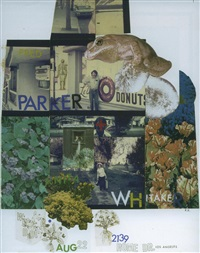 untitled (wedding) by robert rauschenberg
