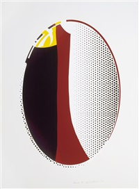 mirror #6 by roy lichtenstein