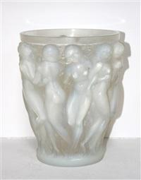 bacchnates vase by rené lalique