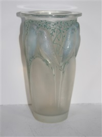 ceylon vase by rené lalique