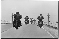 route 12, wisconsin, 1963 from the bikeriders by danny lyon