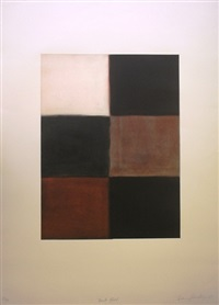 dark fold by sean scully