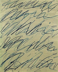 roman notes 3 by cy twombly