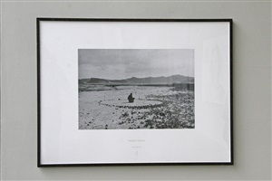 nomad circle by richard long