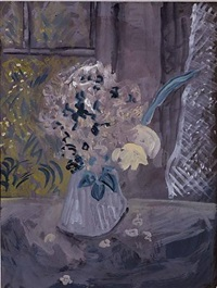 bouquet by milton avery