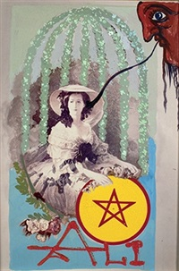 queen of pentacles by salvador dalí