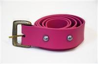 belt buckle (sugarhill) by jim lambie
