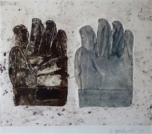 gloves v by betty roodish goodwin