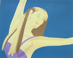 night: william dunas dance 4/pamela by alex katz