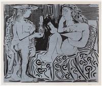 deux femmes by pablo picasso